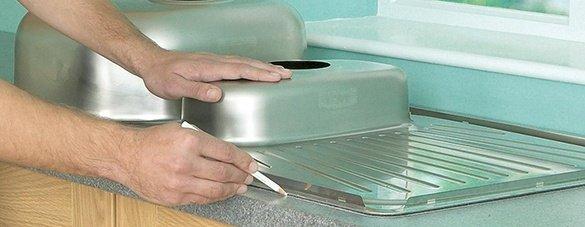 6 бързи съвета при монтаж на кухненска мивка