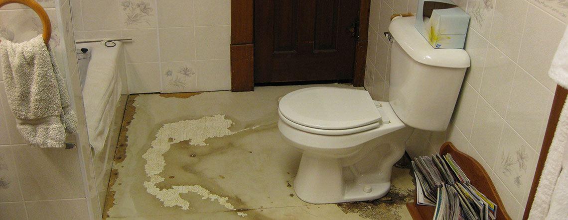 Откриване и отстраняване на ВиК течове в банята