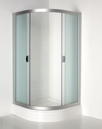 Красива душ кабина у дома